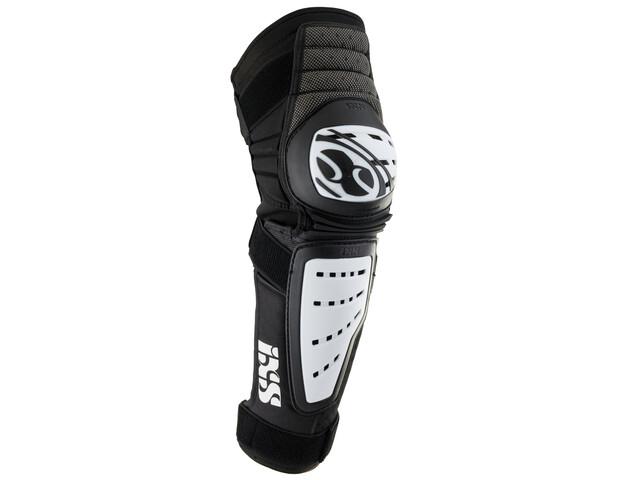 Protectores para piernas IXS Cleaver blanco/negro